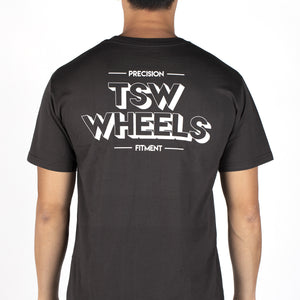 T-SHIRT TSW DROPPER CHARCOAL - XL