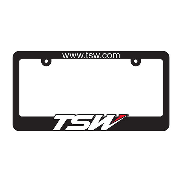 LICENSE PLATE FRAME TSW