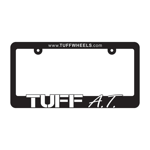 LICENSE PLATE FRAME TUFF