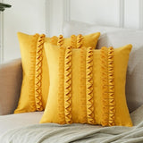 Ruffle Throw Pillow Covers