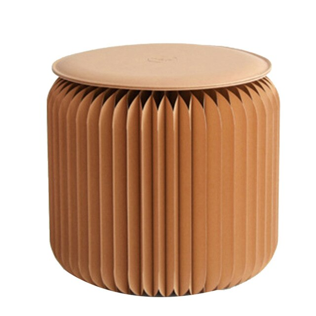 Magic Folding Paper Stool