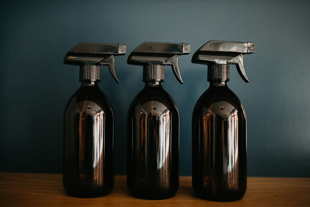 Cleaning Collection - Glass Spray Bottles