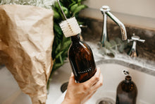 Load image into Gallery viewer, Amber Glass Bottle Bathroom Collection