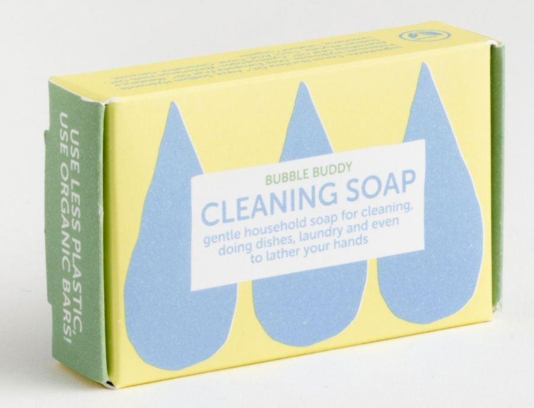 Organic cleaning soap bar