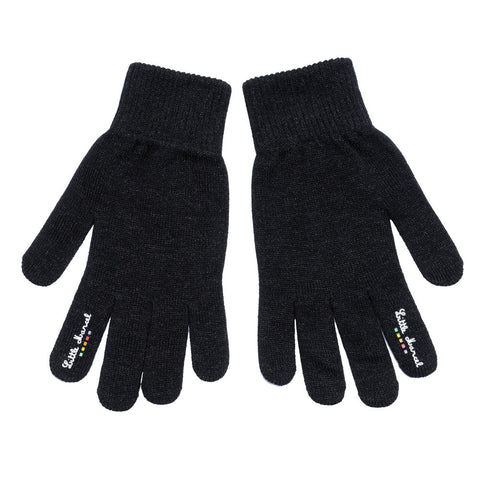 Little Marcel  Black  Gloves for Cell Phone Use Iphone Galaxy Htc