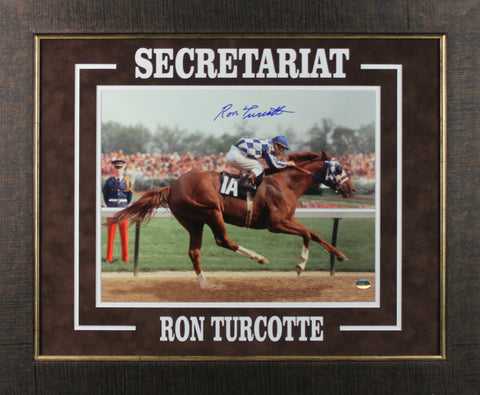 Ron Turcotte Signed 11x14 Framed