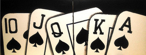 2 Panel Royal Flush