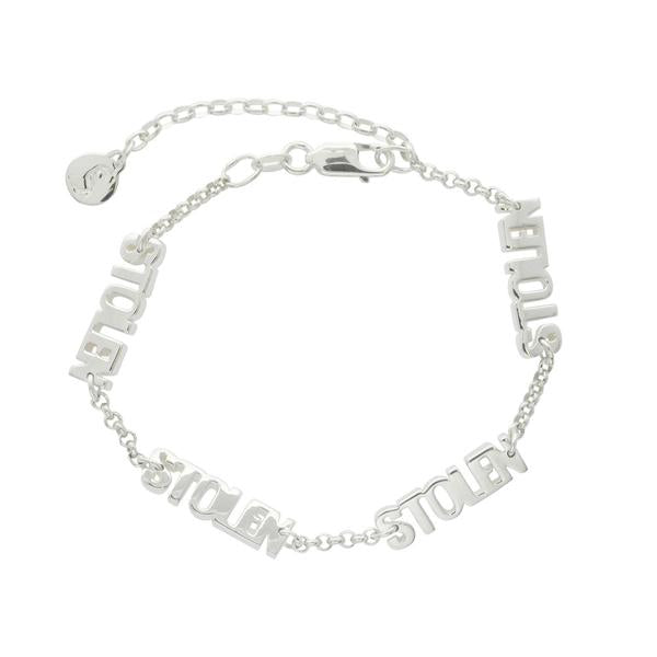 Stolen Girlfriends Club Stolen Block Bracelet
