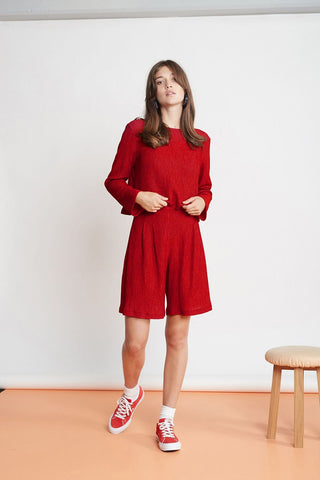 twenty-seven names | The Chronicle Culottes Red