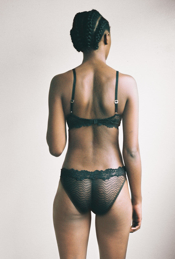 Lonely Lingerie | Bonnie Brief in Black