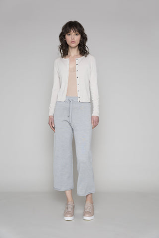 Standard Issue | Crop Crew Cardi - Alabaster