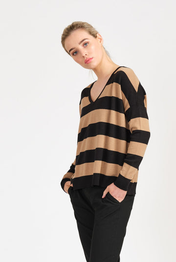 From | Morgan Jumper Black Pepper
