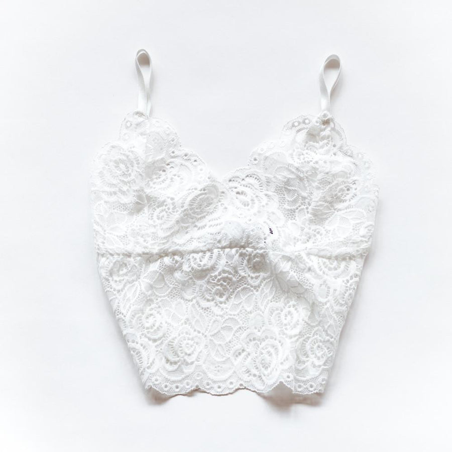 Queen of the Foxes - Bralette White