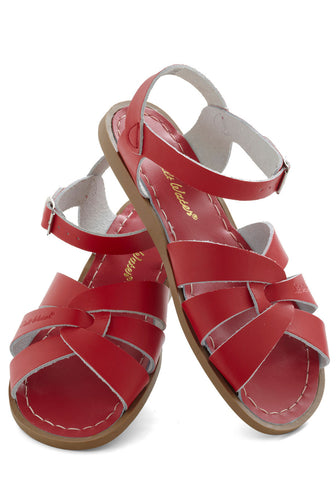 Salt Water Sandals in Red