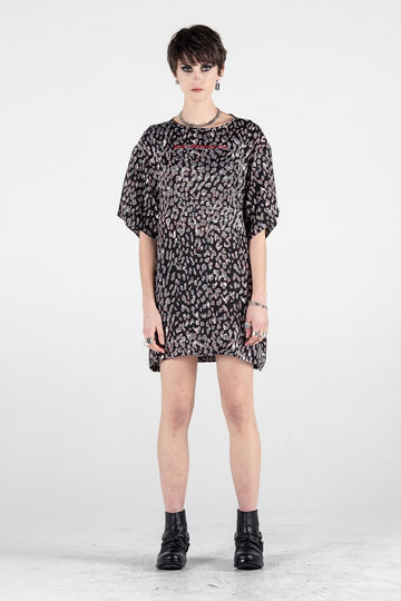 Stolen Girlfriends Club | Ink Cat Shift Dress