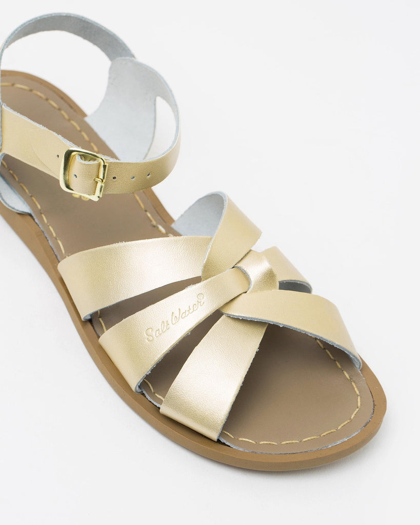 Salt Water Sandals in Gold
