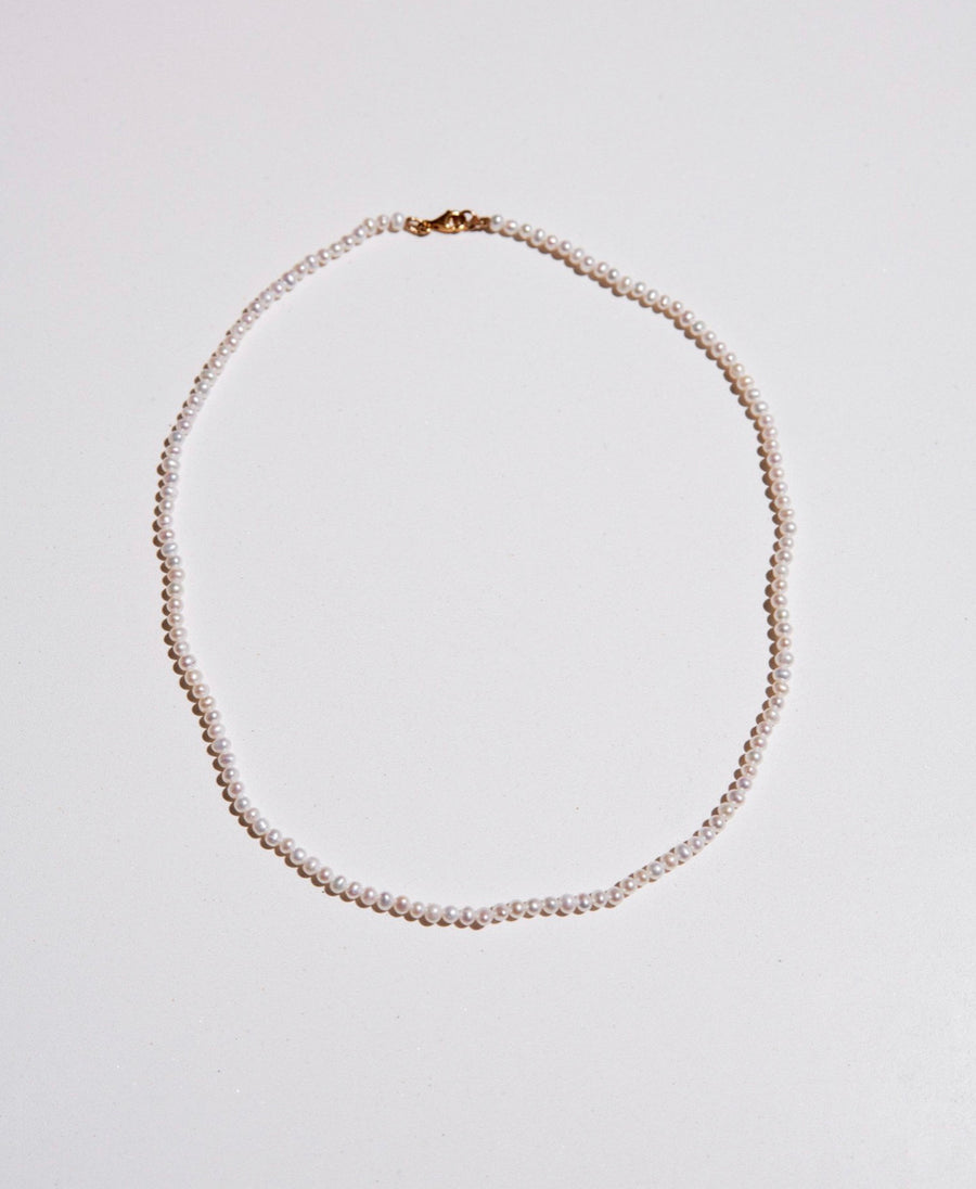Meadowlark | Micro Pearl Necklace