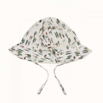 Nature Baby | Toddler Poplin Sunhat Forest Natural Print