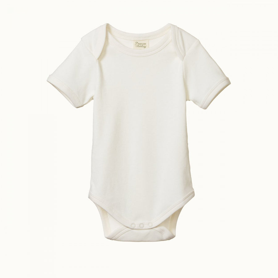 Nature Baby | Short Sleeve Body Suit Natural