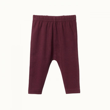 Nature Baby | Baby Leggings Mulberry Print
