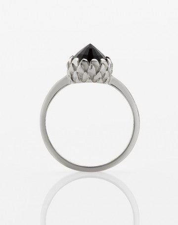 Meadowlark | Mini Protea Ring Onyx