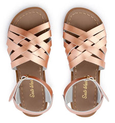 Salt Water Sandals in Rose Gold Retro