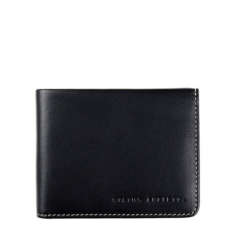 Status Anxiety | Alfred Wallet in Black