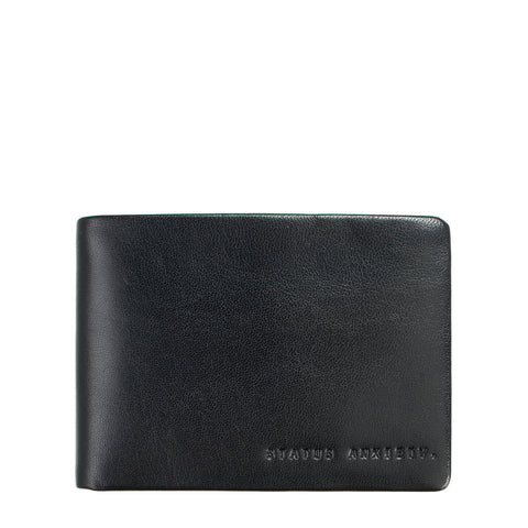 Status Anxiety | Jonah Wallet in Black