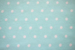 Pat - Dots on Teal