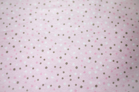 Serinity - Pink Brown & White Dots