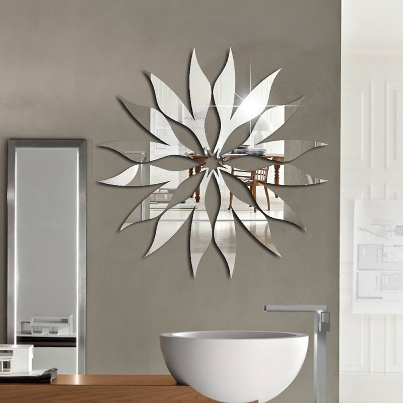 Lumi Sun Mirror Wall Sticker