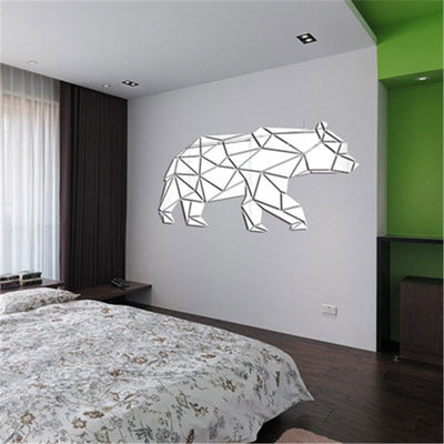 Lumi Bear Mirror Wall Sticker