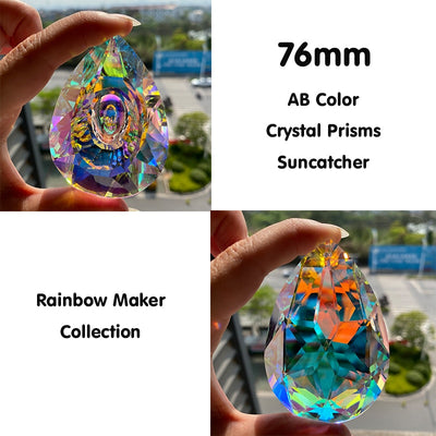 Central Rainbow Crystals