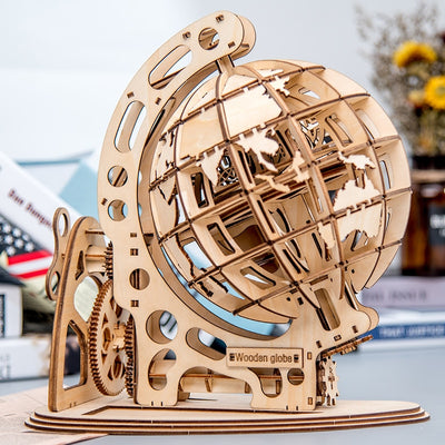 Mechanical Globe Puzzle