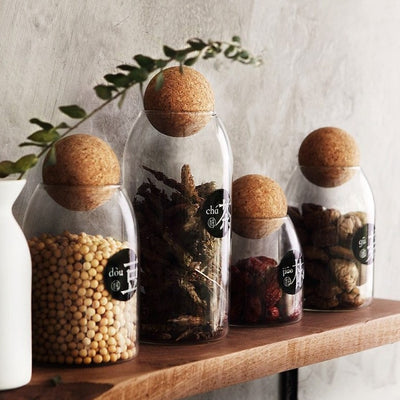 Coop Sphere Jars