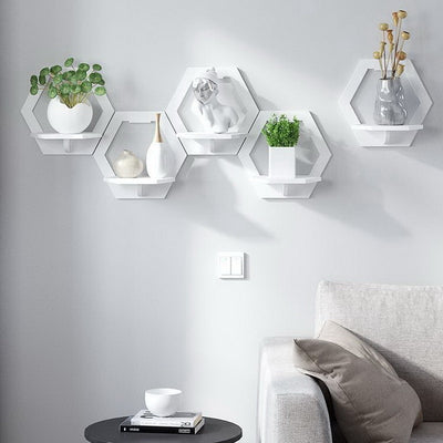 Evie Geometric Shelves