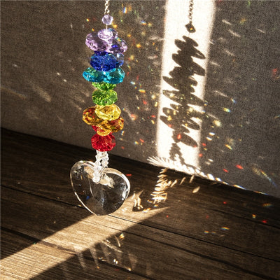 Heart Crystal Rainbow Chaser
