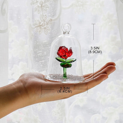 Crystal Rose Dome
