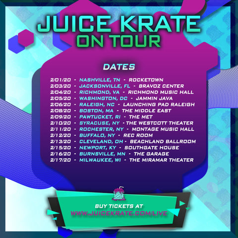 Juice Krate on tour dates
