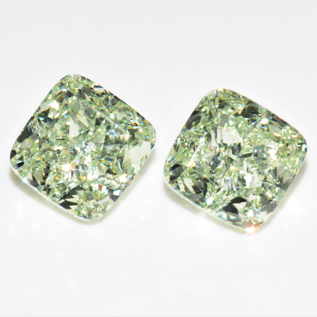 Yellowish Green Fancy Color Diamond