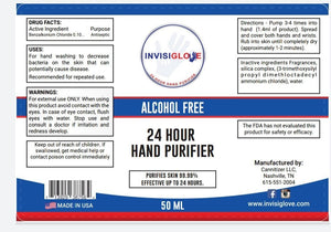 Invisiglove Hand & Skin Purifier 50ML 4-Pack