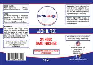 Invisiglove Hand & Skin Purifier 50ML