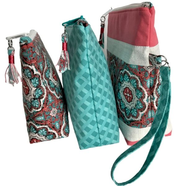 Zippered Pouch Set