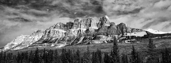 Castle Mountain Panoramic