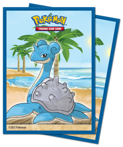 Ultra Pro Sleeves Pokemon Gallery Series Seaside 65 Count