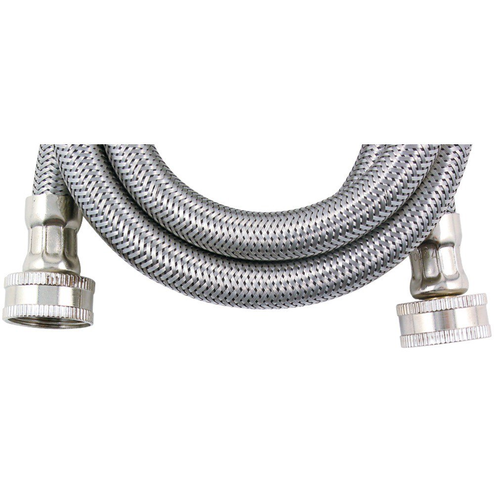 8 FT (96) STAINLESS STEEL WASHING MACHINE HOSE – Parts2Connect.com