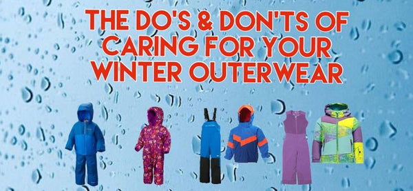 The Do's & Don'ts of Caring for your Winter Outerwear