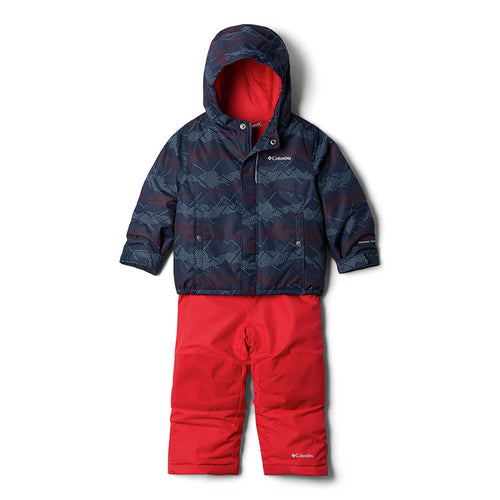COLLEGIATE NAVY DOTSCAPE/MOUNTAIN RED