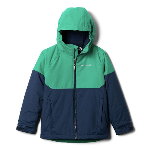 COLLEGIATE NAVY HEATHER/EMERALD GREEN