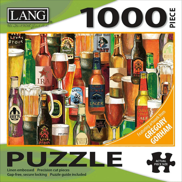Crafted Brews 1000 Piece Jigsaw Puzzle
